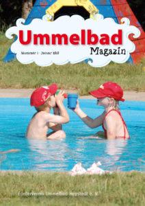 Zwei Kinder im Plantschbecken vom Ummelbad Hepstedt