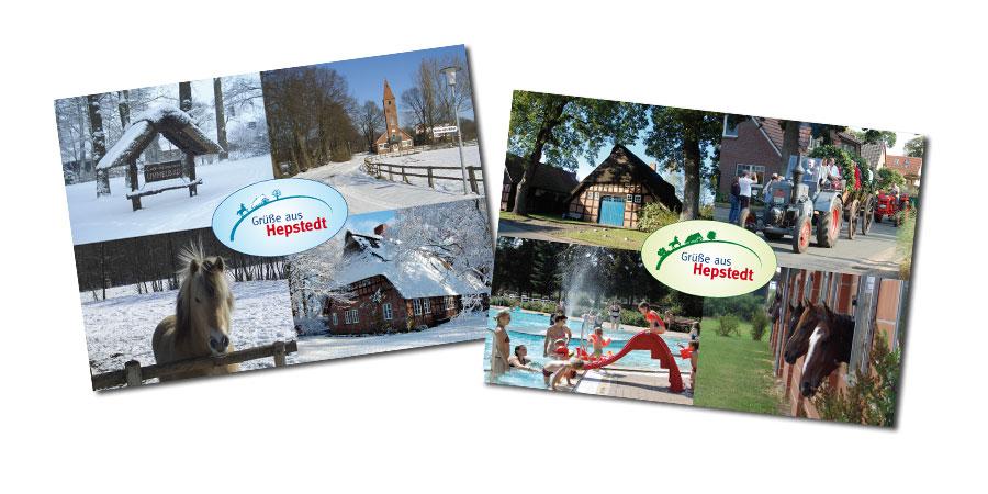 Postkarten aus Hepstedt