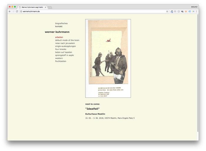 Homepage von Werner Kuhrmann