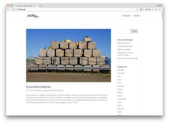 Seltsame Pyramide in Ostfriesland entdeckt