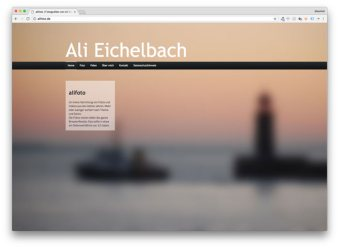 Foto-Homepage von Ali Eichelbach
